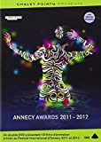 Annecy Awards 2011 - 2012 (18 Short Films) - 2-DVD Set ( The Eagleman Stag / Three Points / Luminaris / Sidewalk Scribble / Paths of Hate / Plato / Sticky Ends / The Lost Town of Switez / Pixels by David Cann