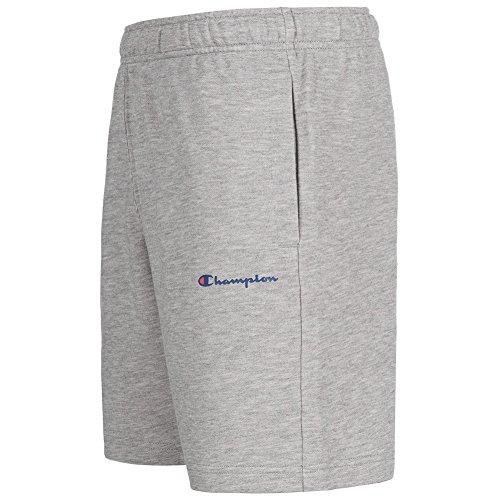 Champion Herren Essential Sweat Shorts dunkelgrau Grau