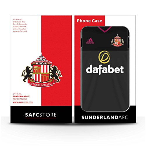 Offiziell Sunderland AFC Hülle / Glanz Snap-On Case für Apple iPhone 7 / Jones Muster / SAFC Trikot Away 15/16 Kollektion Torwart
