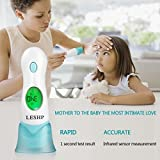 KinshopS - Pantalla LCD 4 en 1 para termómetro Infantil multifunción para bebés