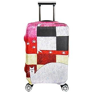 YiJee Thicken Wearproof Elasticidad Cubierta de Equipaje de Viaje Maleta Funda Protectora 18-32 Pulgadas