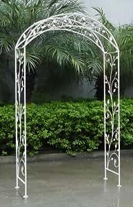Bentley garden arco ornamentale in ferro battuto per for Panchina ferro battuto amazon
