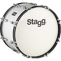 Stagg mabd-261226x 30cm per grancassa, colore: bianco