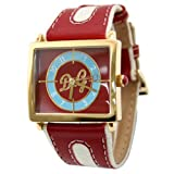D&G Dolce&Gabbana WATCH SIOUX IPG RED/LIGHT BLUE DIAL RED STRAP DW0177