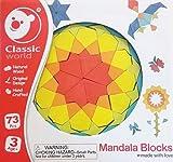 Classic World Mandala Holz Bausteine Mandalas für Kinder Bauklötze