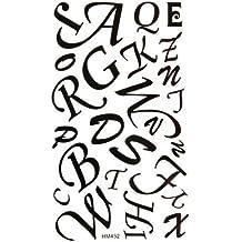 Amazon Es Tatuajes Temporales Letras