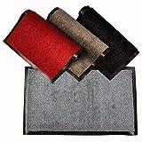 WohnDirect Fußmatte mit Rand – Fussmatte Innen Rutschfest und waschbar – Schmutzfangmatte/Fussabtreter/Fussabstreifer 60x90cm
