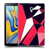 Head Case Designs Offizielle Spires Amarant Facetten Polygone Ruckseite Hülle für Samsung Galaxy Tab A 10.5 (2018)
