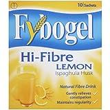 Fybogel Natural Hi-Fibre Lemon Fibre Drink Sachets - Pack of 10