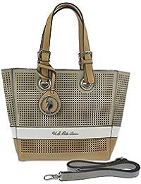U.S.POLO ASSN. Sac à bandoulière avec sac à main intérieur 25-39x8x26 cm