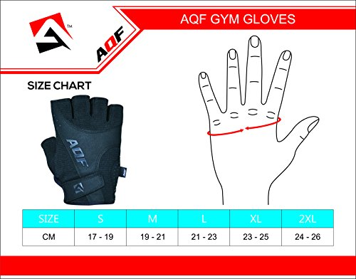 Aqf Weight Lifting Gloves Ultralight Breathable Gym Gloves For