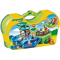 Playmobil - 6792 - Jeu De Construction - Zoo Transportable + Bassins