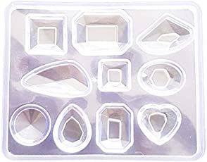 TOYMYTOY Crystal Silicone Mold DIY Jewelry Pendant Resin Casting Mould