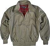 GearUp Original Harrington Jacke English Style in 12 verschiedenen Designs wählbar Farbe Oliv Größe XL