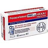 Paracetamol Hexal 1000 mg Zäpfchen, 10 St.