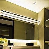 GaoHX Light 8W/10W/13W/15W Led Smd 5050 Acryl Licht Leuchte Vordere Lampe Bad Wc ,Weiß/Länge 80Cm...