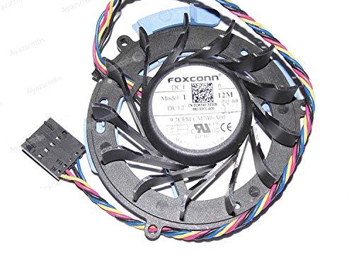 Ayazscmbs CPU Lüfter kompatibel für Dell OptiPlex GX740 745 755 760 780 HDD Hard Drive Kühlung Lüfter CM740 0CM740 PVB060E12M or DFB601612MA0T F7S5