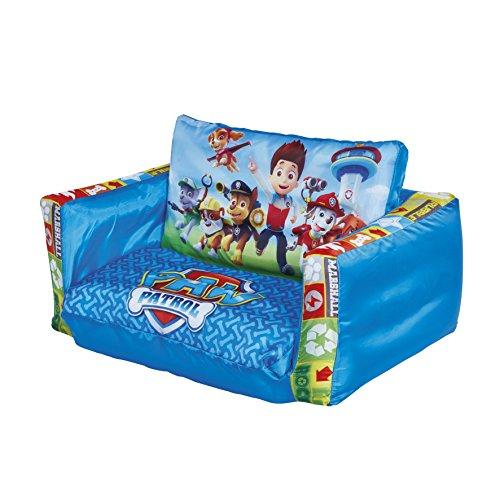 27 99 24 la pat patrouille mini canap convertible canaplit gonflable pour enfants. Black Bedroom Furniture Sets. Home Design Ideas