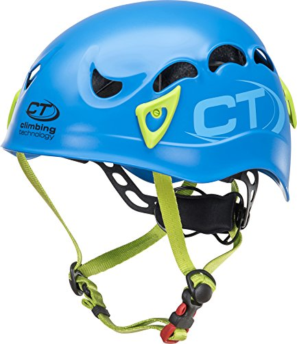 Climbing technology galaxy casco, blu, regolabile da 50-61 cm