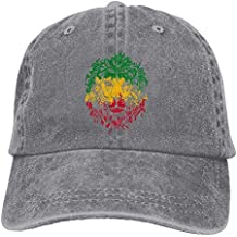 cdaf714c8f2f9 TEPEED Rasta Lion Unisex Baseball Cap Cowboy Hat Dad Hats Trucker Hat
