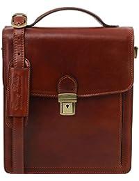 Tuscany Leather David Borsello in pelle a tracolla - Misura grande