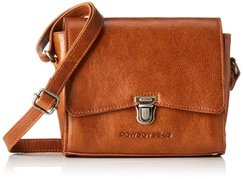 Cowboysbag Damen Bag Rowe Umhängetasche, Braun (000380-Juicy Tan), 7x13x19 cm Womens Tan Leder