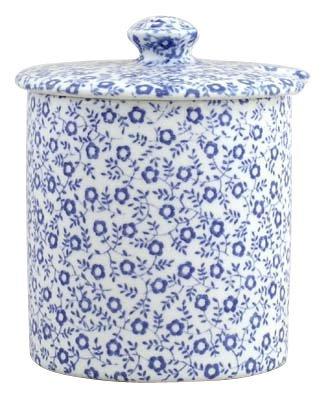 Burleigh Pale Blue Felicity Jam or Preserve Pot 8 cm by Burleigh - Jam Pot