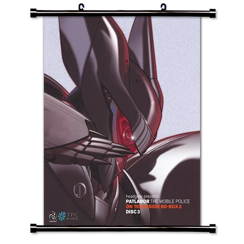 Patlabor Anime Fabric Wall Scroll Poster (16 x 18) Inches