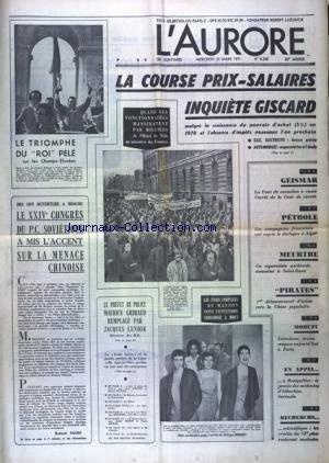 AURORE (L') [No 8268] du 31/03/1971