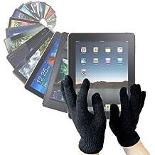 DURAGADGET Guantes LCD Para Pantalla Táctil Para El Nuevo Tablet iPad Air Modelos Wi-Fi, Wi-Fi+ Cellular, Tablet Acer Modelo Iconia W4 Windows 8.1 - Tamaño Mediano