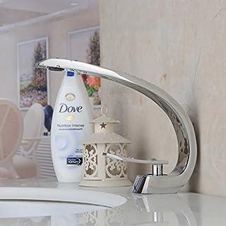 Monobloc Bathroom Sink Tap Single Handle Single Hole Basin Mixer Tap Solid Brass Mono Lavatory Tub Vanity Vessel Sink Faucets