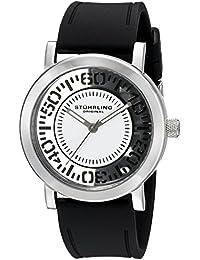 Stuhrling Original Reloj de cuarzo Man 830.01 Negro 42.0 mm