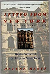 Letter from New York/Bbc Woman's Hour Broadcasts by Helene Hanff (1993-05-01)
