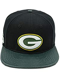 Pro Standard Men s NFL Green Bay Packers Logo Buckle Hat Black Green W Pins 6ef306a99ce
