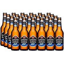 Estrella Galicia Cerveza sin Alcohol - Paquete de 24 x 250 ml - Total: 6000
