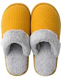Amazon.es  Amarillo - Zapatillas de estar por casa   Zapatos para ... 216c035fad1