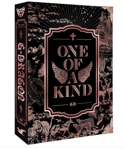 Kpop CD, G-DRAGON GD ONE OF A KIND FIRST MINI ALBUM BRONZE EDITION CD & FOLDED POSTER + FREE GIFT (2 Items) *NEW* (A One Kind G-dragon Of Von)