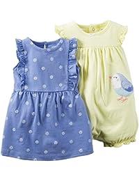 A/&O Spieler Body mit R/öckchen 56 62 68 74 80 86 Baby Kurzarmbody Romper Sommer Bodykleid