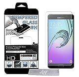 1st Film de Protection d'écran en Verre trempé pour Samsung Galaxy A3 Transparent