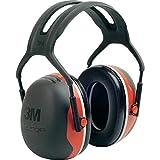 3M Peltor Kapselgehörschutz X3A Kopfbügel SNR 33 dB schwarz-rot