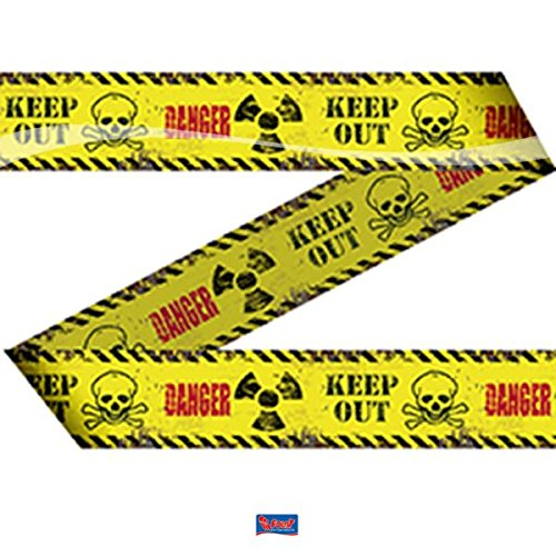 Absperrband Danger Keep Out 15m Halloween Horror Deko (Halloween-tür Keep Out)