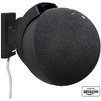 All-new, Made for Amazon Tilt + Swivel Wall Mount for Echo (4th gen.), Black
