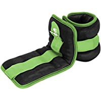 REEHUT Ankle Weights, Durable Wrist Weight (1 Pair) w/Adjustable Strap for Fitness, Exercise, Walking, Jogging, Gymnastics, Aerobics, Gym