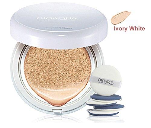 BioAqua Air Cushion BB Creme Concealer Foundation Flüssig Make Up Kissen Ivory White
