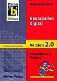 Bautabellen digital, Arbeitsblätter in Mathcad (1 CD-ROM)