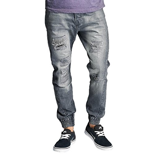 Just Rhyse Homme Jeans / Antifit Maputo Gris