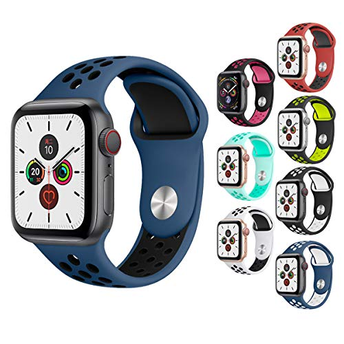 ATETION Compatible Apple Watch Correa 38mm 40mm 42mm