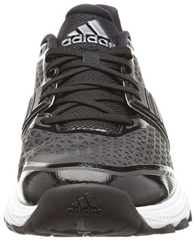 adidas Crazytrain Bounce, Chaussures de Running Compétition Homme noir, gris, blanc
