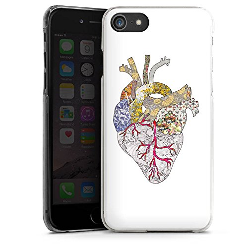 Apple iPhone X Silikon Hülle Case Schutzhülle Liebe Herz Heart Hard Case transparent