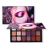 squarex 18Farben pro Lidschatten Palette Make-Up Matt Shimmer hoch pigmentierte, professionellen Pearl Glitter Puder